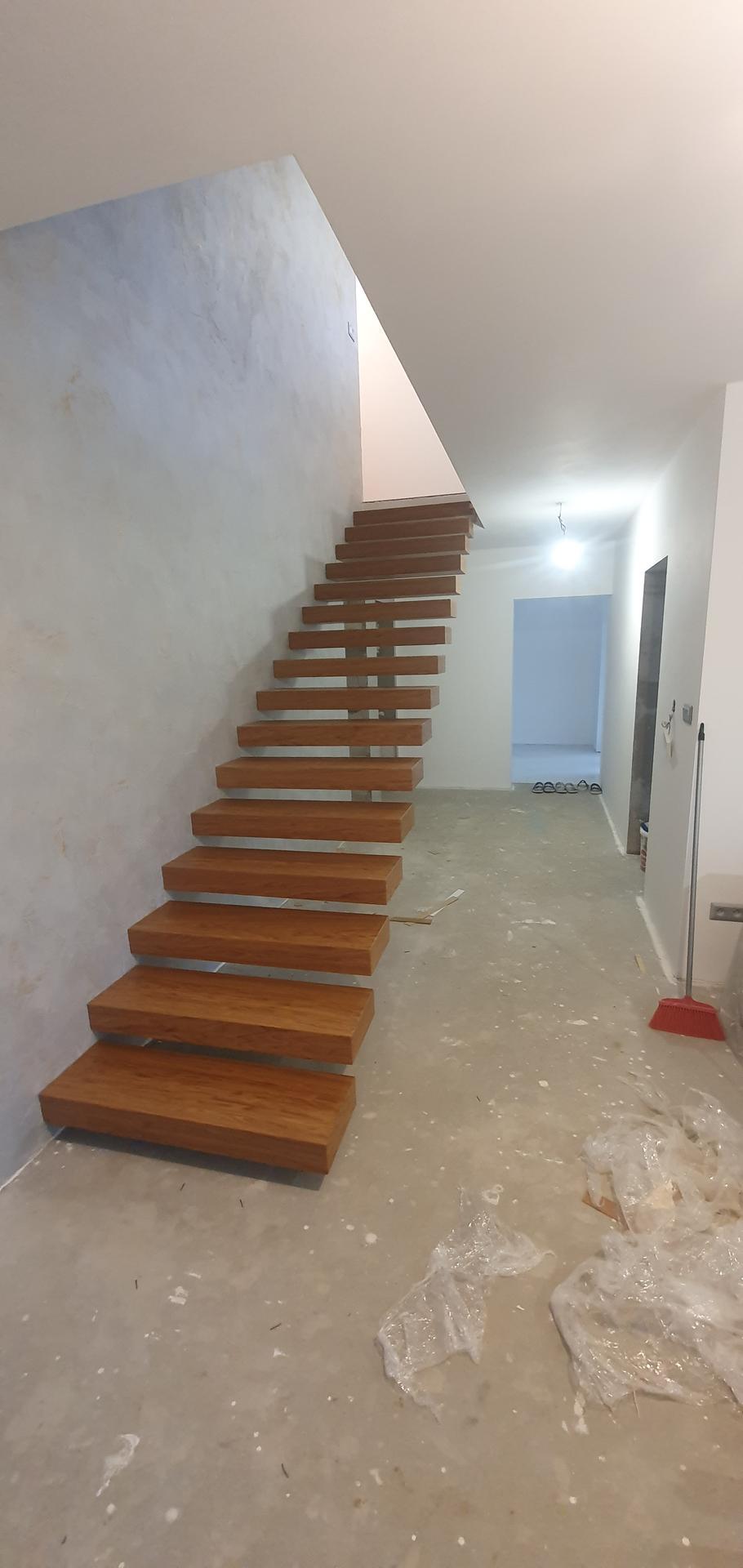 Konzolove schodisko (samonosne schody) - Obrázok č. 39