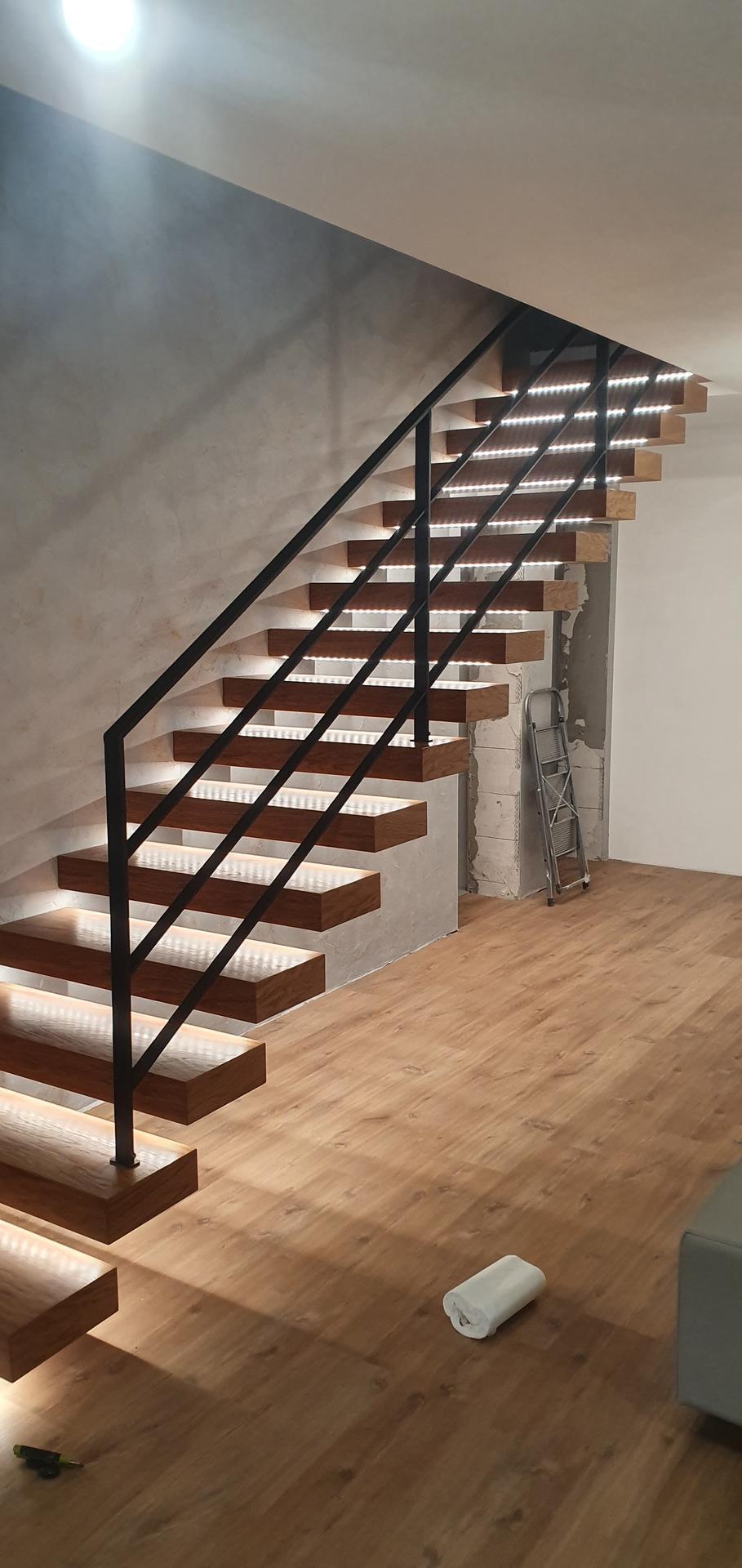 Konzolove schodisko (samonosne schody) - Obrázok č. 1