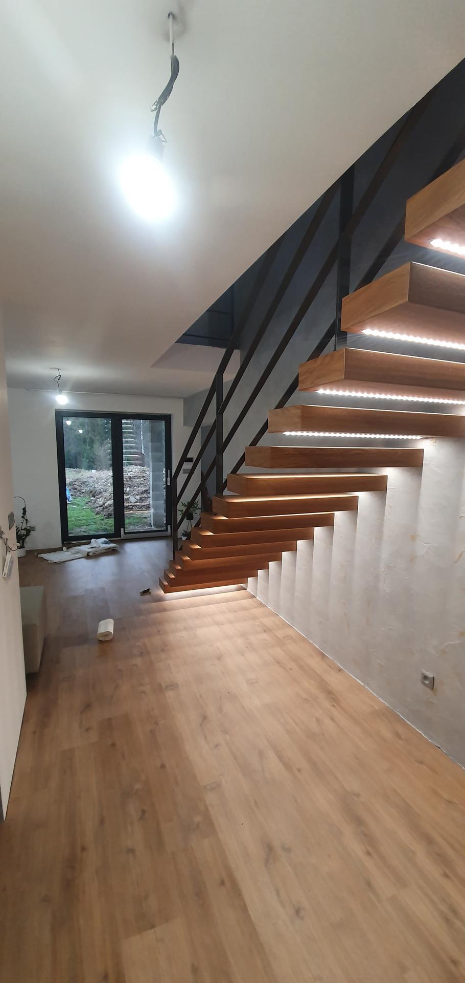 Konzolove schodisko (samonosne schody) - Obrázok č. 45