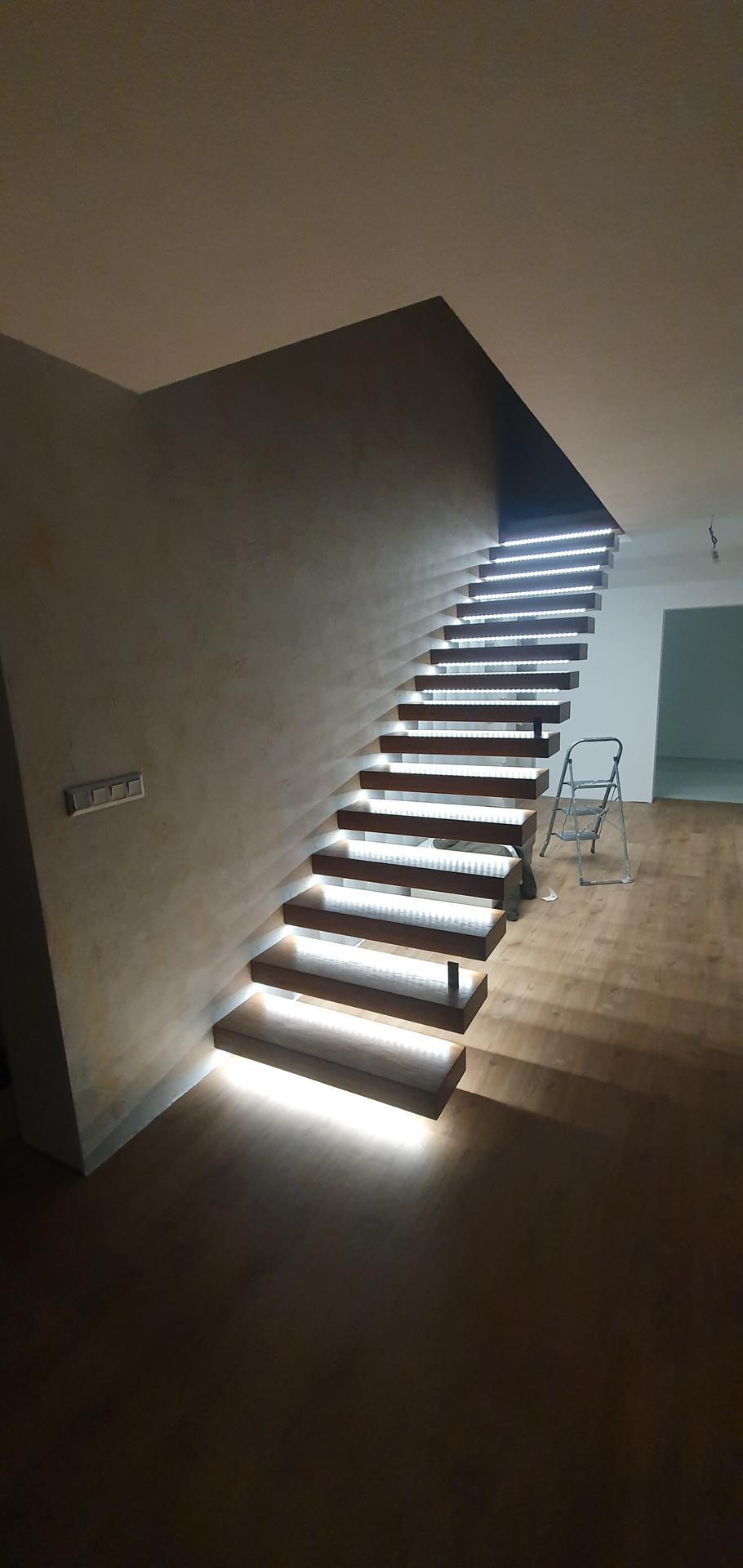 Konzolove schodisko (samonosne schody) - Obrázok č. 44