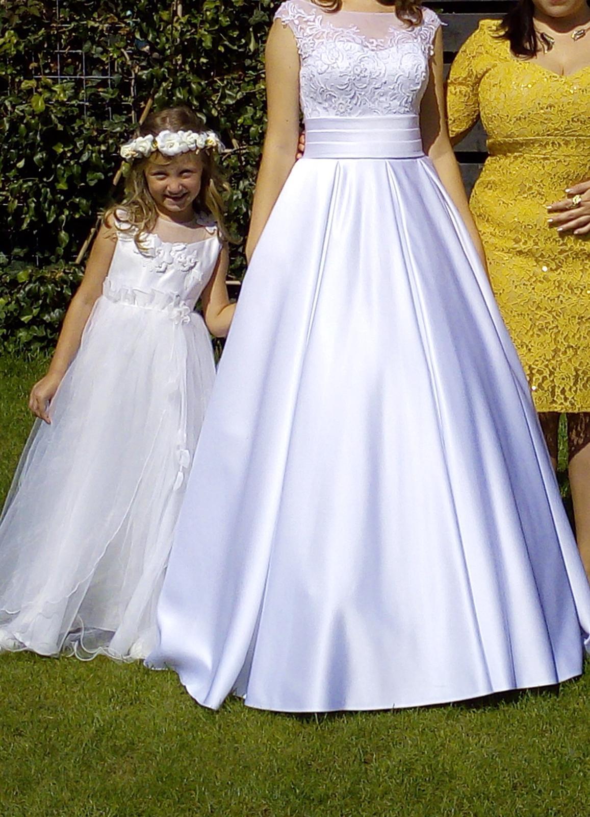 Svatební šaty vel.36- 38 - Obrázek č. 1