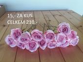 Látkové růže,