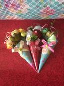 Svadobné mini kytice - darčeky pre hostí,