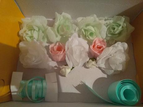 Růžičky a stuhy - Obrázek č. 1