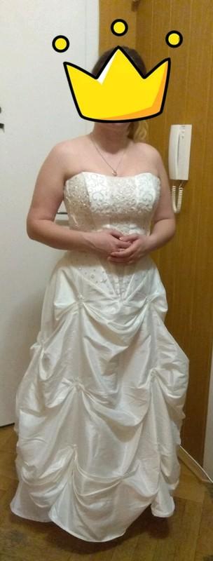 Svatební šaty ze svatebního salonu - Obrázek č. 1
