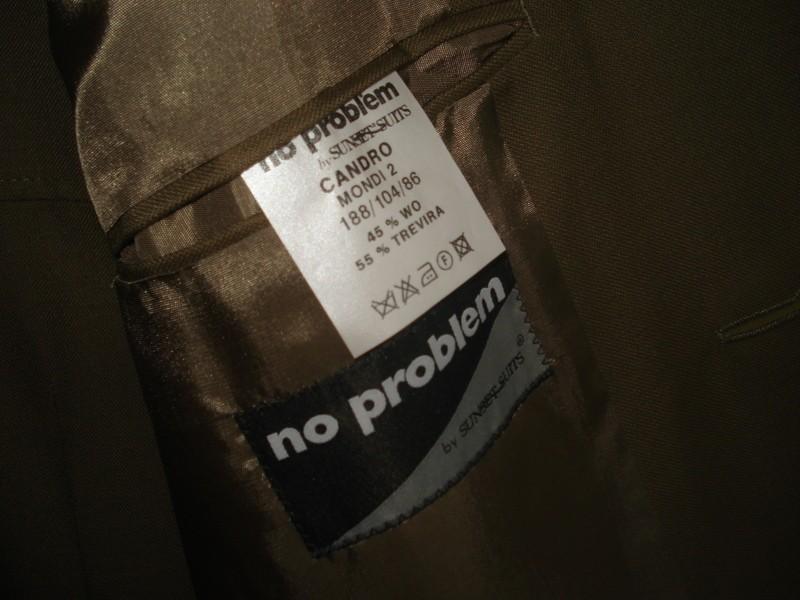 Hnědý pánský oblek - Obrázek č. 2