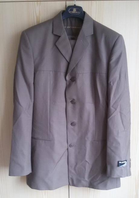 Hnědý pánský oblek - Obrázek č. 1