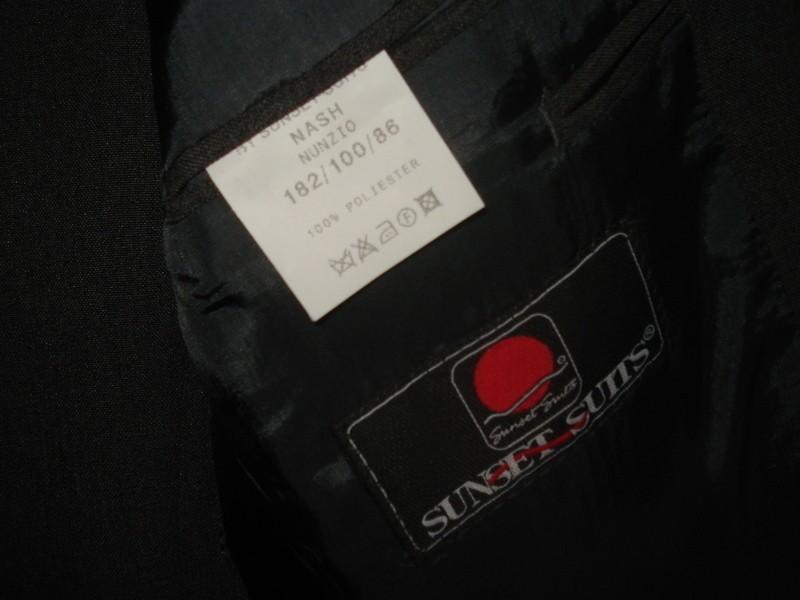 Tmavě šedý pánský oblek - Obrázek č. 2