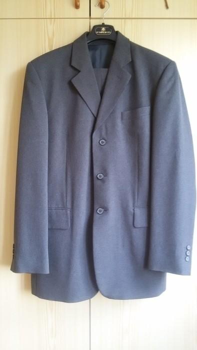 Tmavě šedý pánský oblek - Obrázek č. 1