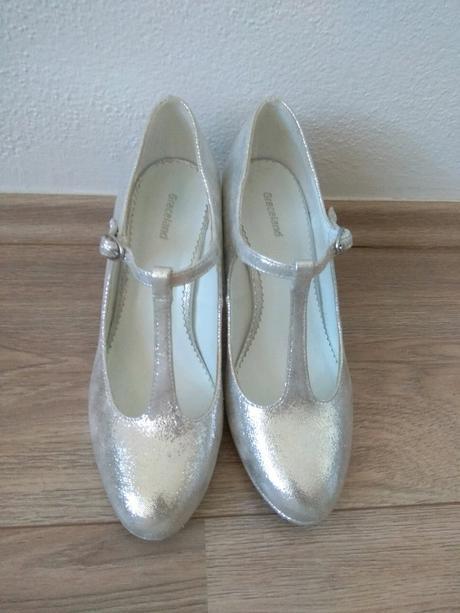 Stříbrné svatební boty - Obrázek č. 1