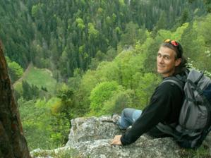 môj horolezec na Tomášovskom výhľade