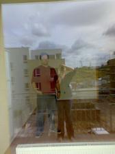 a takto budem z balkonu kontrolovať, čo sa deje vovnútri :-)
