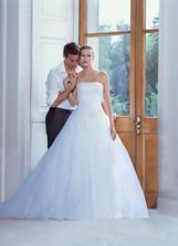 Tak tohle jsou moje šatičky:-) Mě v nich uvidíte až na svatebních fotkách:-)