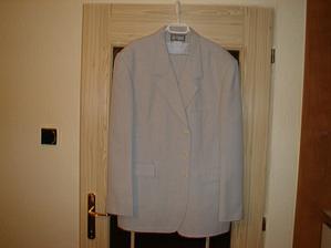 Oblek pro důležitého svatebčana:-)