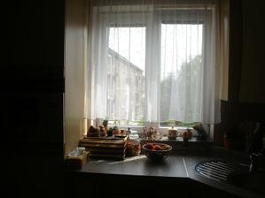 Kuchyň - okno