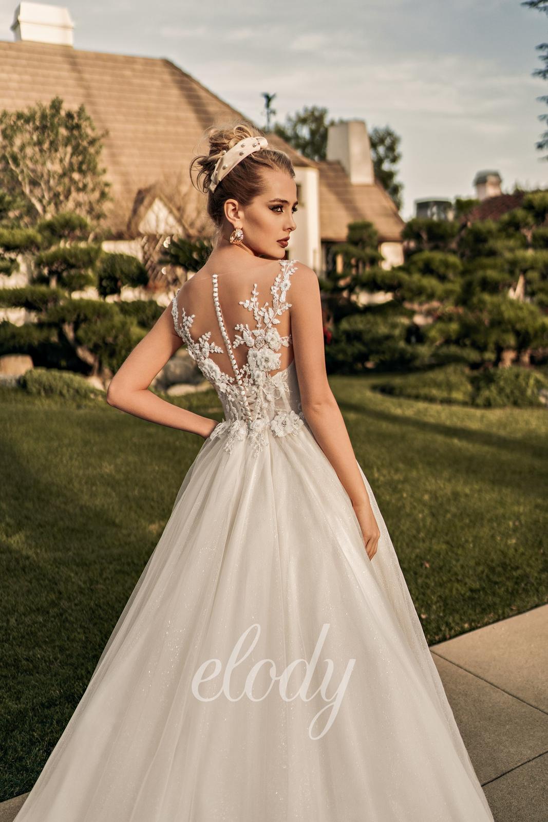 Svatební šaty Elody model 105 Linda vel. 32-34 (XS) - Obrázek č. 2