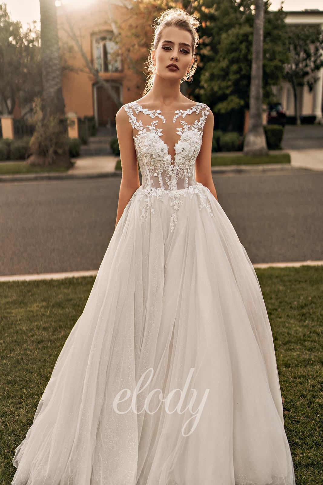 Svatební šaty Elody model 105 Linda vel. 32-34 - Obrázek č. 1