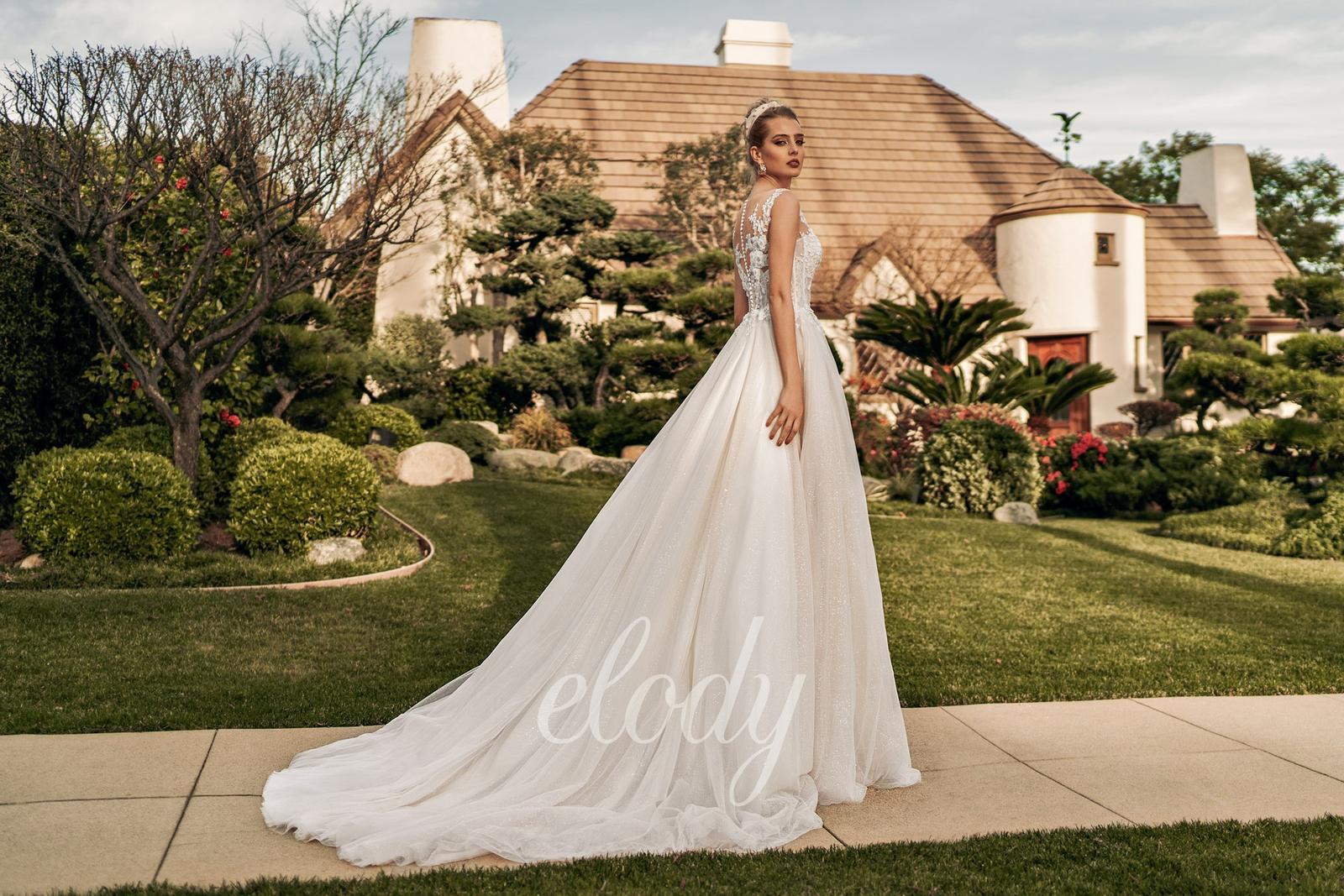 Svatební šaty Elody model 105 Linda vel. 32-34 (XS) - Obrázek č. 3