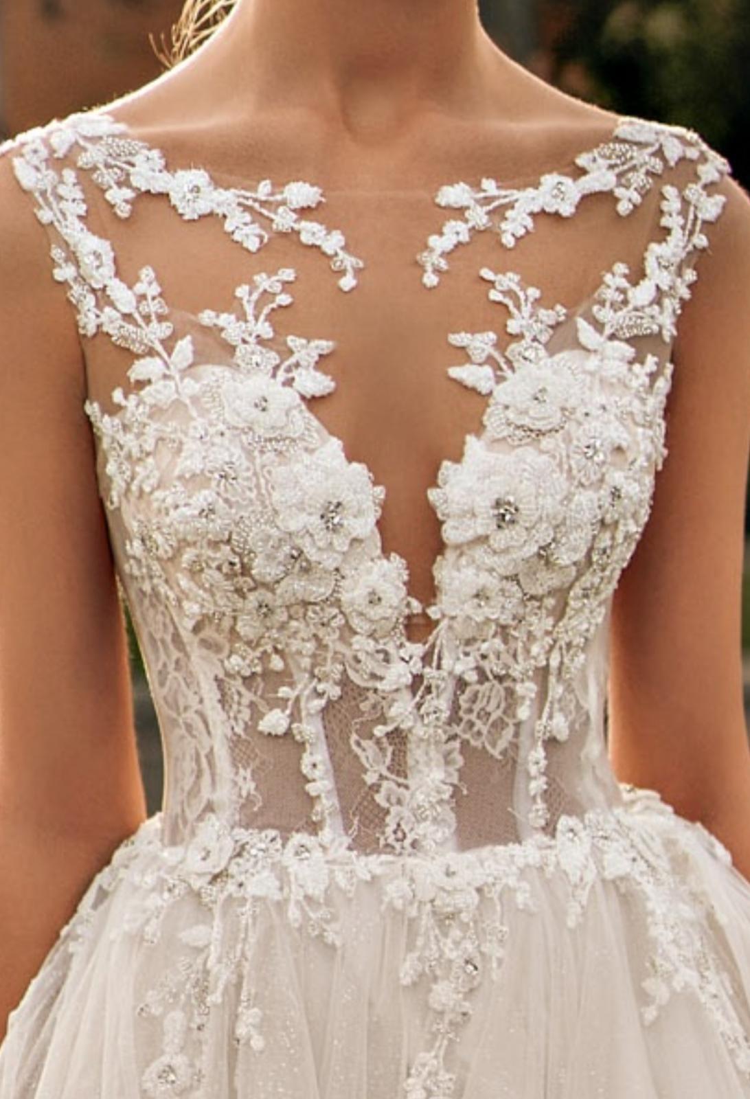 Svatební šaty Elody model 105 Linda vel. 32-34 (XS) - Obrázek č. 4