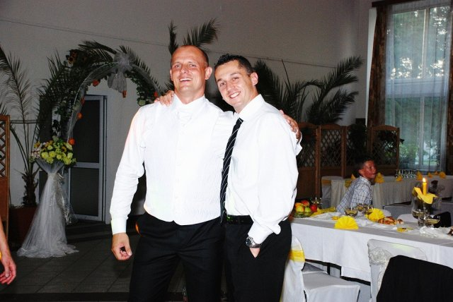 Tinka{{_AND_}}Maťko - manžel s kamarátom Mirom