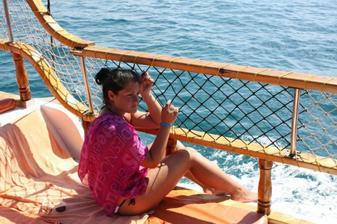 oddychovka na mori