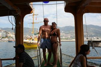 naša svadobná cesta - Turecko