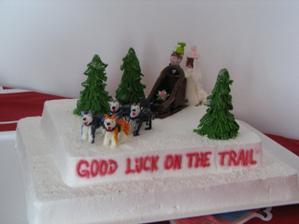 Náš speciální dort - to prostě patří k nám...