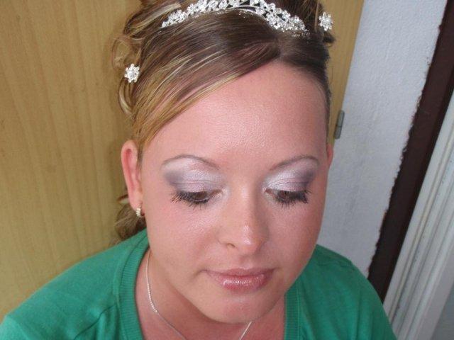 """Naše prípravy na deň """"D"""" - 29.08.2009 - skúška make upu"""