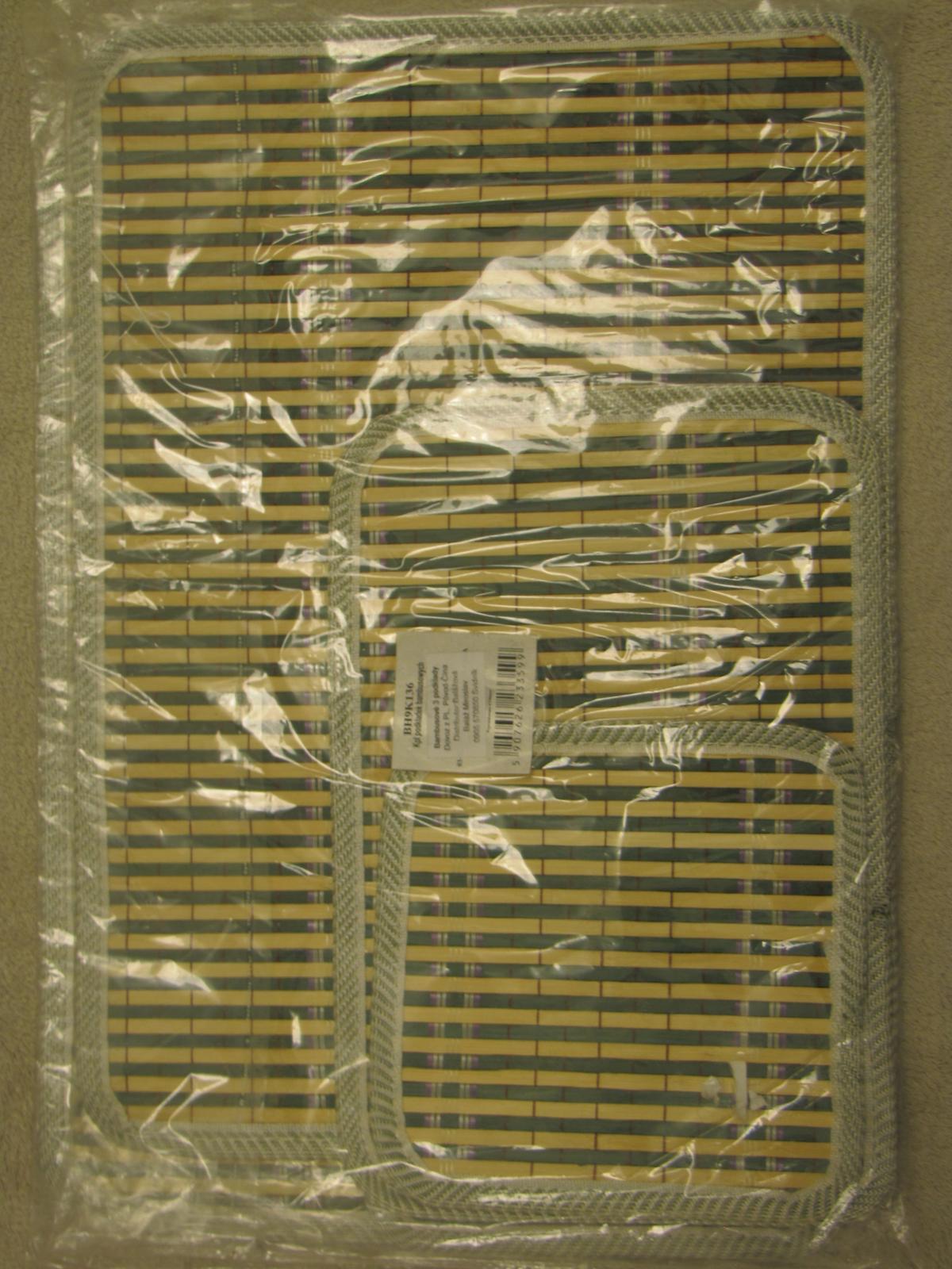 bambusové prestieranie - Obrázok č. 1