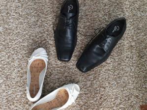 to jsou naše svatební botičky