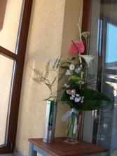 květina pro mou mámu a pro tátu Jameson