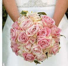 vysnena svatebni kytka