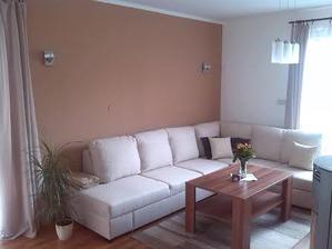 Nová sedačka aj steny v novom šate :)