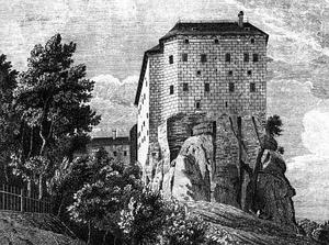 hrad Houska, místo činu...