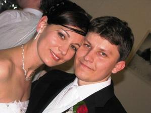 Novomanželia Janka a Majko Novosádoví