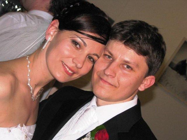 manželia Janka{{_AND_}}Majko Novosádoví - Novomanželia Janka a Majko Novosádoví