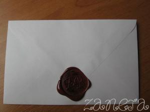 pečetidlo na obálce
