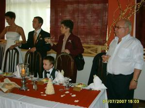 Jeho rodičia a náš synovec