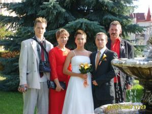 Moji rodičia a brat