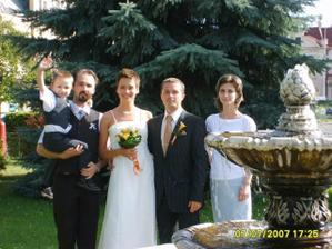 Drahého brat s rodinou