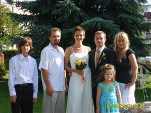Drahého druhý brat s rodinou
