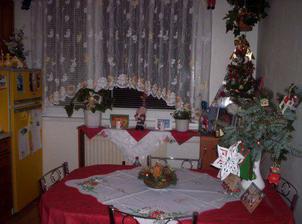 vianočná atmosféra v kuchyni