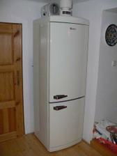 Pořídili jsme si retro ledničku