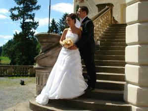Fotka na schodech