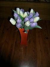 přišly tulipány   vypadají moc hezky... nevím zda použiju ale vypadají krásně