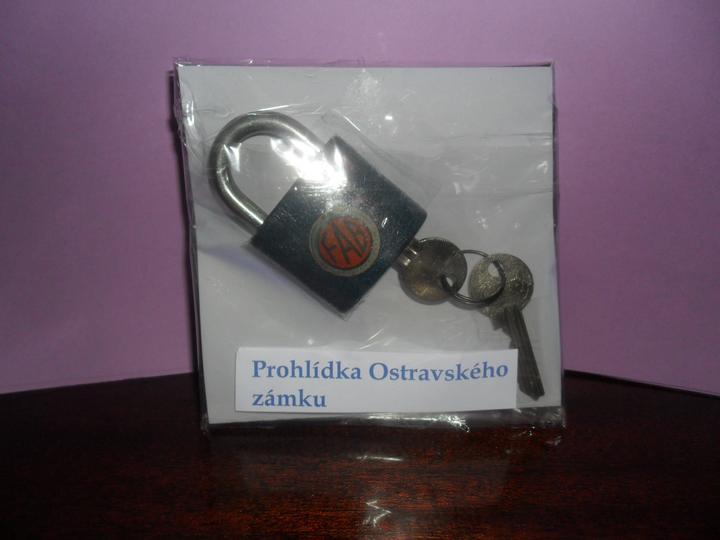 Příprava tomboly - prohlídka Ostravského zámku
