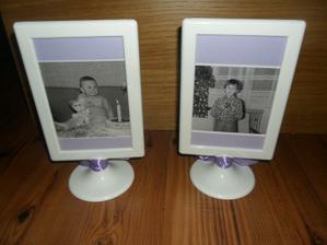 opačná stranaaa   tady na těch fotkách je vidět jak Sabinka je celá já   a Davča celý tatínek  :))))