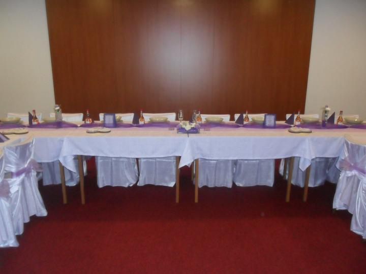 Jak vznikala svatební tabule a candys bar - děkovací srdíčka připravenééé