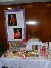 ňamííííííí     a jak se to hodiloo.. do výslužek koláče dort a sladkosti... nikdo neřekl ne.. a rozdalo se skoro všechnooo   v průběhu svatby krásně mizlo...  :))))  doporučuji všem páč tohle mělo úspěchhhhhh