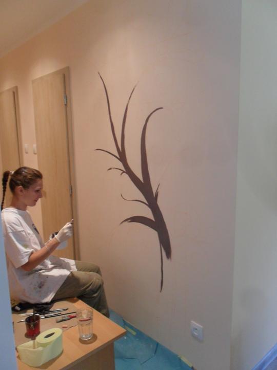Náš foto strom  :) - už se maluje :)